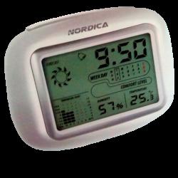 Termometre-Dijital saatli...