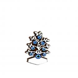 Göz boncuklu magnet-ağaç