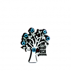 Göz boncuklu magnet-ağaçta...