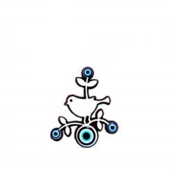 Göz boncuklu magnet-ağaç...