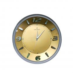 Duvar saati-Metalik görünümlü
