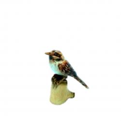 Ahşap kuş-El yapımı serçe