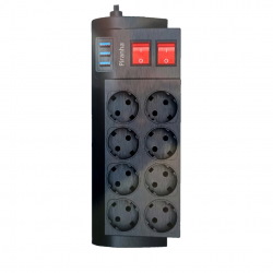 USB'li Çoklu Priz - Piranha...