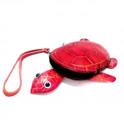 Bayan deri cüzdan-Kaplumbağa