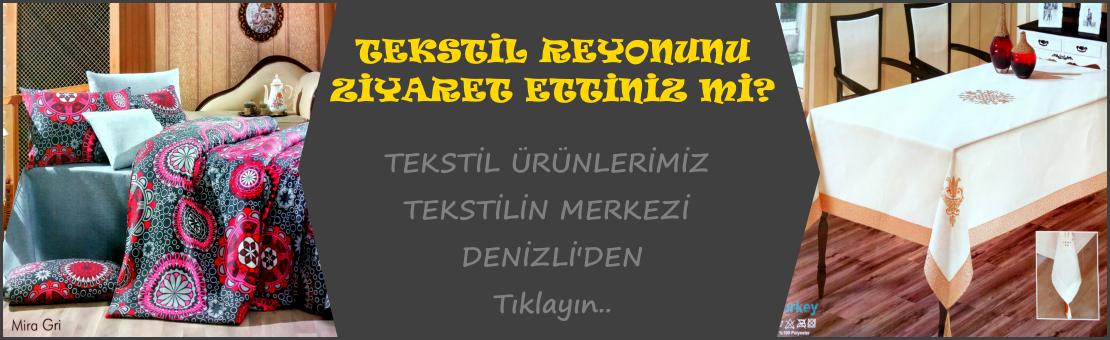 Reyonnet Ev Tekstili Reyonu
